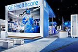 GE Healthcare has had McMillan Group develop a series of exhibitions to present their broad range of products and services over many years